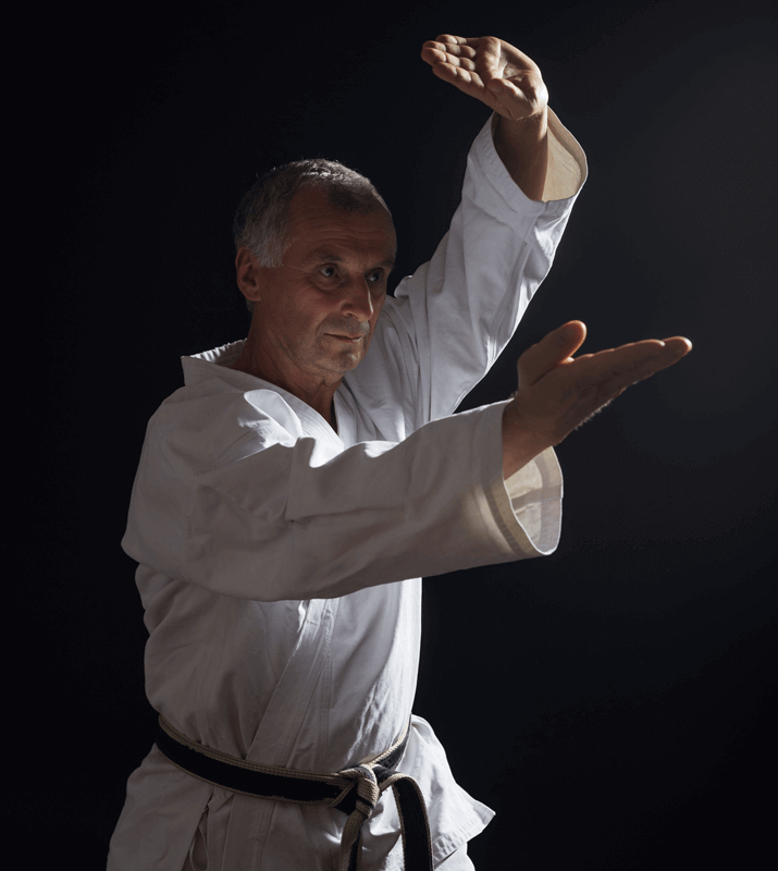 Martial Arts Lessons for Adults in Lake Jackson TX - Older Man