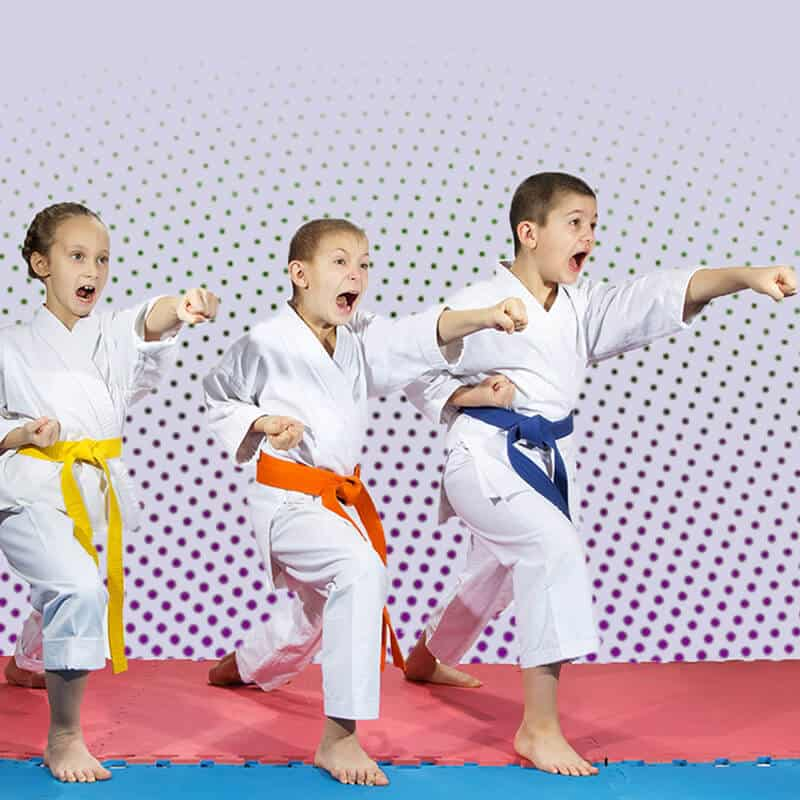Martial Arts Lessons for Kids in Lake Jackson TX - Punching Focus Kids Sync