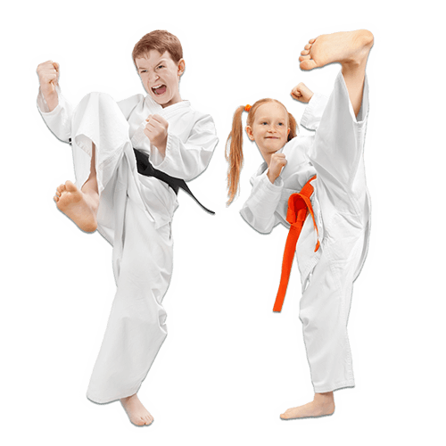 Martial Arts Lessons for Kids in Lake Jackson TX - Kicks High Kicking Together