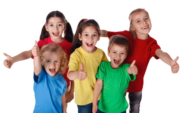 Martial Arts Summer Camp for Kids in Lake Jackson TX - Happy Smiling Kids Footer Banner