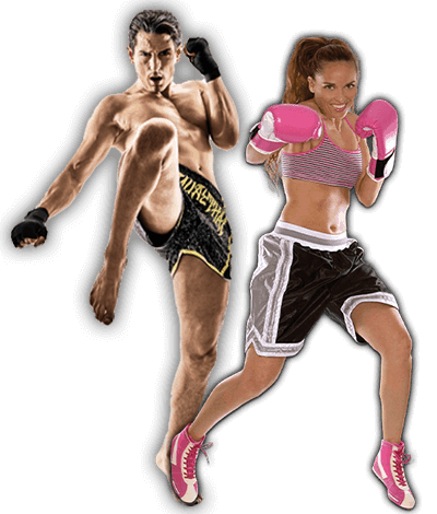 Fitness Kickboxing Lessons for Adults in Lake Jackson TX - Kickboxing Men and Women Banner Page