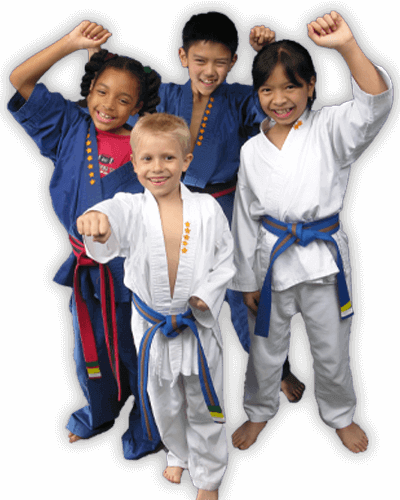 Martial Arts Summer Camp for Kids in Lake Jackson TX - Happy Group of Kids Banner Summer Camp Page